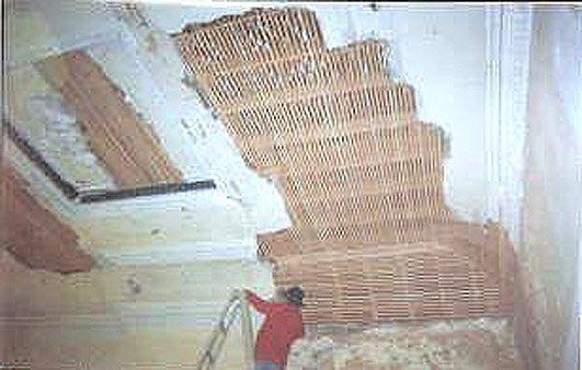 Lath And Plaster : Heritage repairs and lathe plaster ceilings df